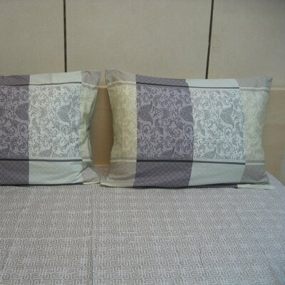 Paisley 200 Thread Count Cotton Fitted Sheet Set Size: Twin