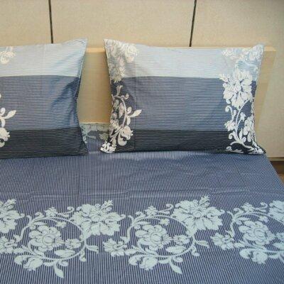 Royal 200 Thread Count Cotton Flat Sheet Set Size: Twin