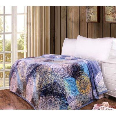 Yiru Flannel Fleece Toss Blanket Size: 80 W x 90 L