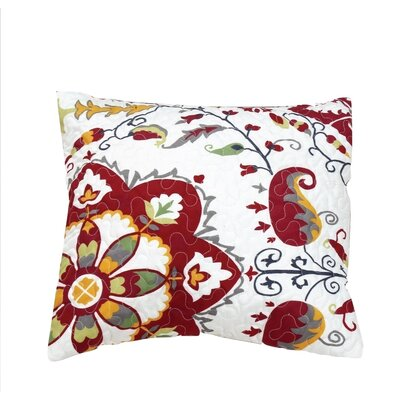 Bohemian Casablanca Quilted Cotton Pillow Cover