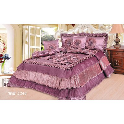 6 Pieces Comforter  set Size: King