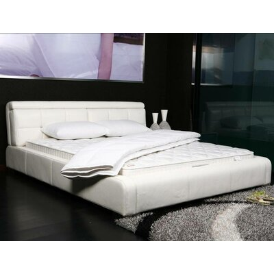 Basic Solid Comfort Bed Top Mattress Quilted Cover Padding Size: King