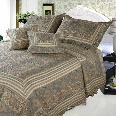 Paisley Paradise 3 Piece Reversible Bed in a Bag Set
