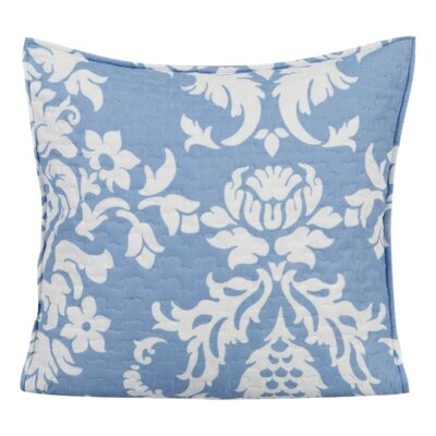 Enchanted Breeze Quilted Cotton Pillow Cover