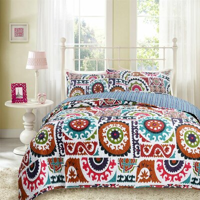Reversible Bedspread Set Size: Twin