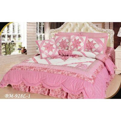 Joliette 5 Piece California King Quilt Set