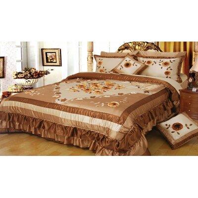 Allensville Floral 5 Piece King Comforter Set
