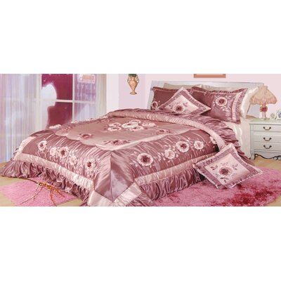 Julienne 5 Piece King Comforter Set