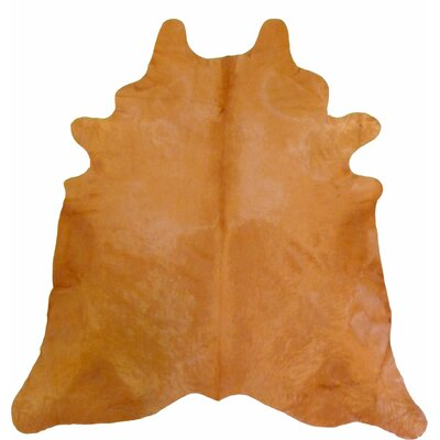 Extra Large Dyed Brazilian Cowhide Clementine Area Rug