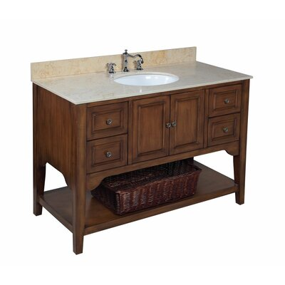 Washington 48 Single Bathroom Vanity Set