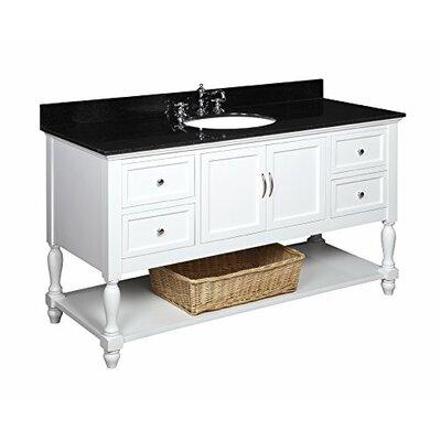 Beverly 60 Single Bathroom Vanity Set