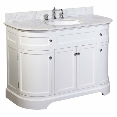 Montage 48 Single Bathroom Vanity Set Base Finish: White