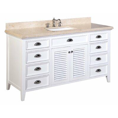 Savannah 60 Single Bathroom Vanity Set