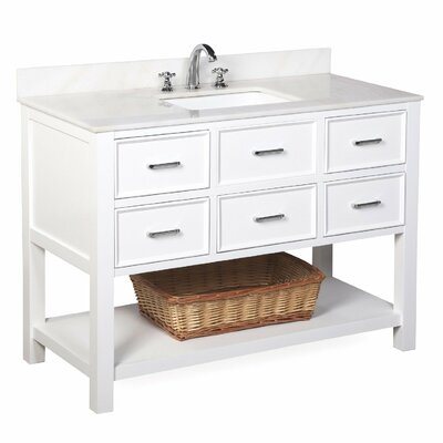 New Hampshire 48 Single Bathroom Vanity Set