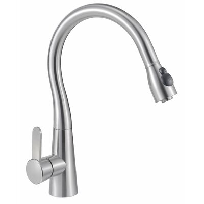 Single Handle Pull-Out Kitchen Faucet with Spray