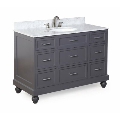 Amelia 48 Single Bathroom Vanity Set