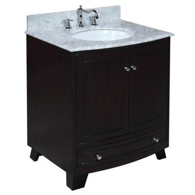 Palazzo 30 Single Bathroom Vanity Set Base Finish: Espresso