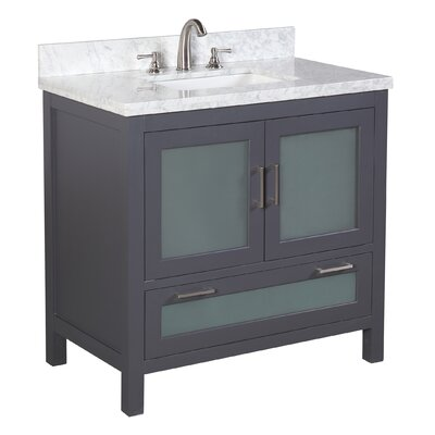 Manhattan 36 Single Bathroom Vanity Set