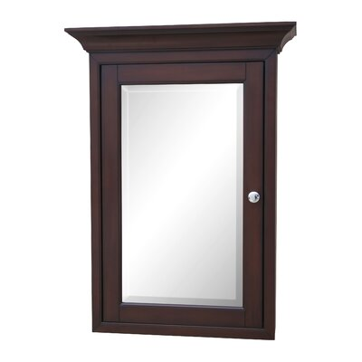 24.25 X 33 Surface Mount Medicine Cabinet Finish: Chocolate