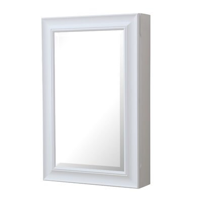 22 X 34 Surface Mount Medicine Cabinet Finish: White