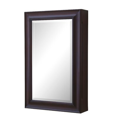 22 X 34 Surface Mount Medicine Cabinet Finish: Chocolate