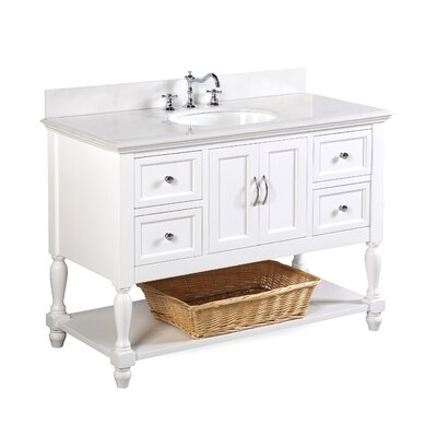 Beverly 48 Single Bathroom Vanity Set
