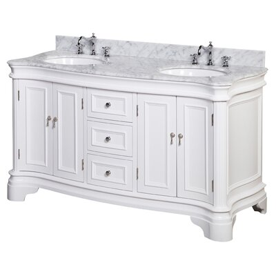 Katherine 60 Double Bathroom Vanity Set