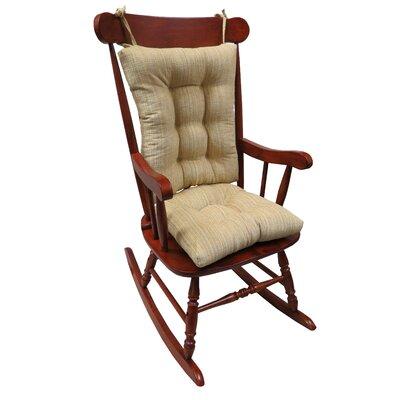 Universal Rocking Chair Cushion Cushion Color: Sand Beige