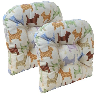 Scottie Dog Chair Cushion
