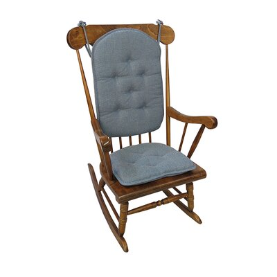 Saturn Rocking Chair Cushion Color: Wedge