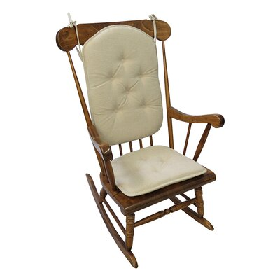 Saturn Rocking Chair Cushion Color: Natural