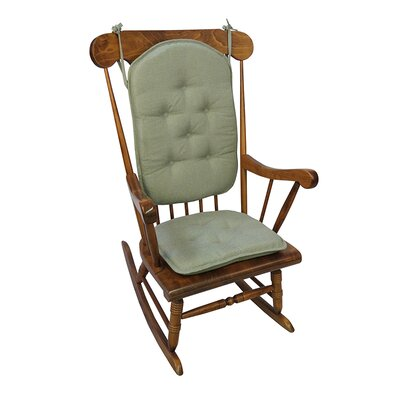 Saturn Rocking Chair Cushion Color: Celadon