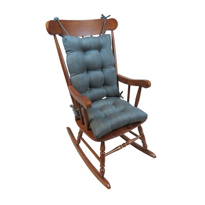 Scion Rocking Chair Cushion Color: Aqua