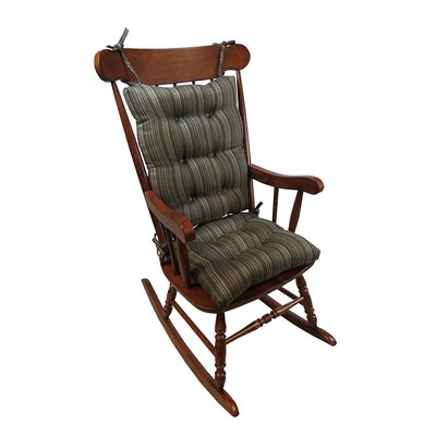 Scion Rocking Chair Cushion Color: Chocolate