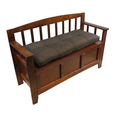 Padded Bench Cushion Color: Chestnut