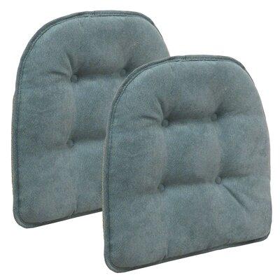 Twillo Dining Chair Cushion Fabric: Marine