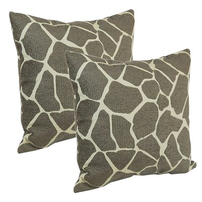 Animal Skins Throw Pillow