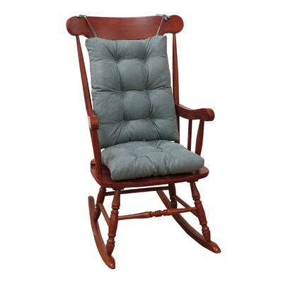 Twillo Rocking Chair Cushion Fabric: Marine