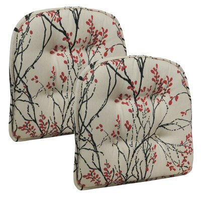 Myla Gripper Tufted Dining Chair Cushion
