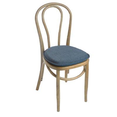Tonic Gripper Delightfill Dining Chair Cushion Fabric: Blue
