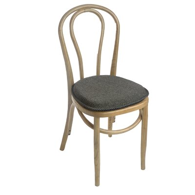 Tonic Gripper Delightfill Dining Chair Cushion Fabric: Taupe