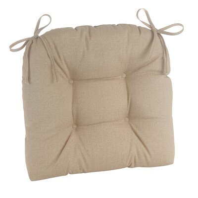 Indoor/Outdoor Patterned Extra Large Lounge Chair Cushion Fabric: Husk Birch