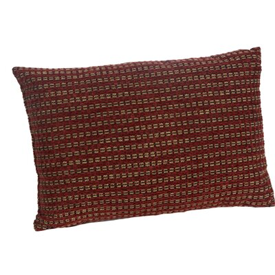Ottino Lumbar Pillow Color: Red