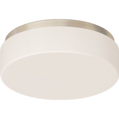 2-Light Flush Mount Size: 4.12 H x 13 D