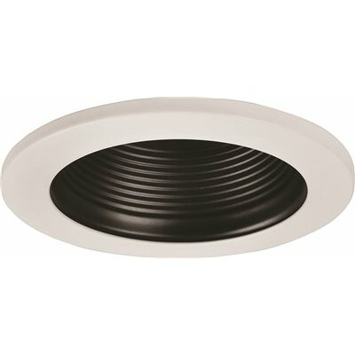 Metal Baffle Recessed Trim Finish: Black