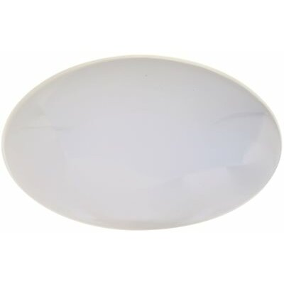 Round Ceiling Cloud 1-Light Flush Mount Size: 4.5 H x 16 W x 16 D