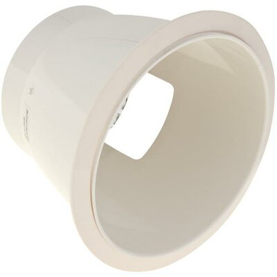 Anodized Reflector Horizontal Socket 8 Recessed Trim