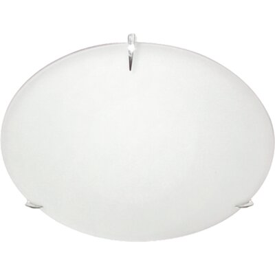60-Watt 2-Light Flush Mount