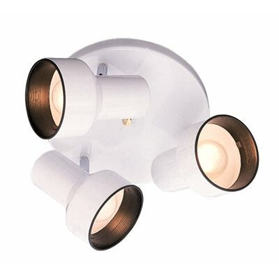 Spotlight Ceiling 3-Light Semi Flush Mount