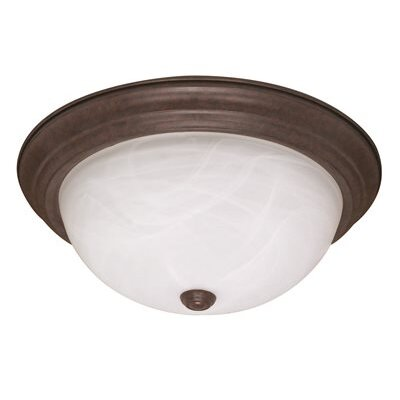 13.25 2-Light Flush Mount